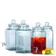 Bonbonnière Hexagonale 11,5 litres en verre 100% recyclé