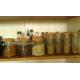6 Pots à épices Authentic 200 ml avec bouchon en liège