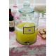 Bonbonne Cylindrique en verre 100% recyclé, 12 litres