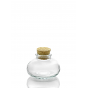 24 Mini bocaux Calabaza avec bouchon en liège, 90 ml