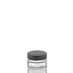 24 tarros en vidrio VASO ZEN 40 ml con cápsula DEEP Ø 58 mm. no incluidas.