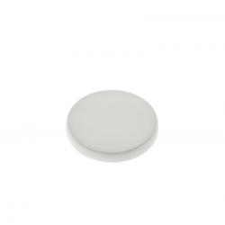 24 Capsules en PVC blanches pour pot de Yaourt 125 grammes