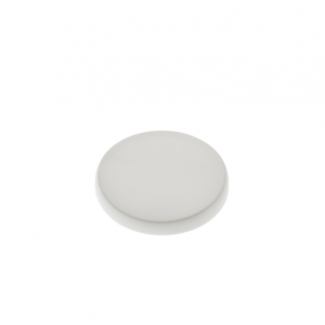 24 Capsules en PVC blanches pour pot de Yaourt 150 grammes