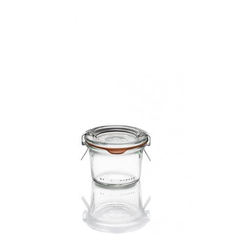 12 glass jars Weck Droits 80 ml