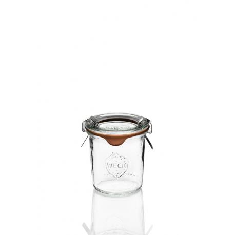 12 glass jars Weck Droits 140 ml