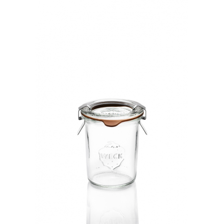 12 glass jars Weck Droits 160 ml