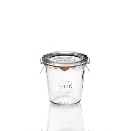 6 Bocaux en verre Weck Droits 290 ml haut