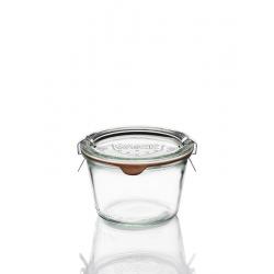 6 Bocaux en verre Weck Droit 370 ml