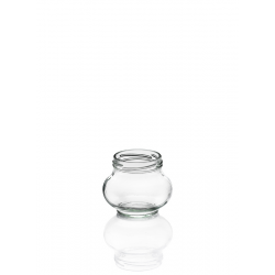 12 bocaux en verre WECK® Fête® 235 ml Twist-off  avec capsule à visser Ø 63 mm fournie