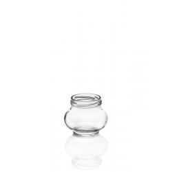12 vasi in vetro WECK® Fête® 235 ml Twist-Off con capsula da avvitare Ø 63 mm fornita.