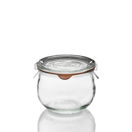 6 glass jars Weck Corolle 580 ml