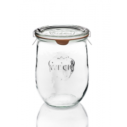 6 vasi di vetro Weck Corolle 1062 ml