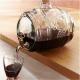 Tonneau en verre 2 litres, verre 100% recyclé avec robinet