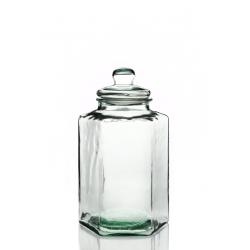 Bonbonne Hexagonal, en verre 100% recyclé, 11.5 litres