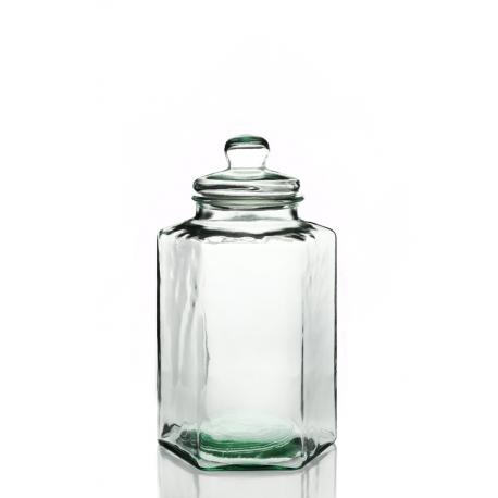 Bonbonne Hexagonale, en verre 100% recyclé, 11,5 litres
