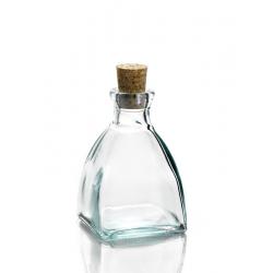 24 Mini bouteilles 200 ml Licorera Pyramide, bouchon liège