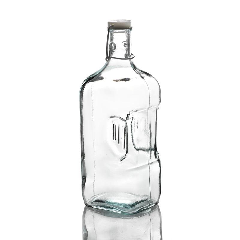 Bouteille frigo 2 litres avec capsule m canique mcm - Bouteille en verre originale ...
