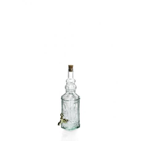 6 bouteilles 700 ml Miguelette en verre recyclé avec robinet