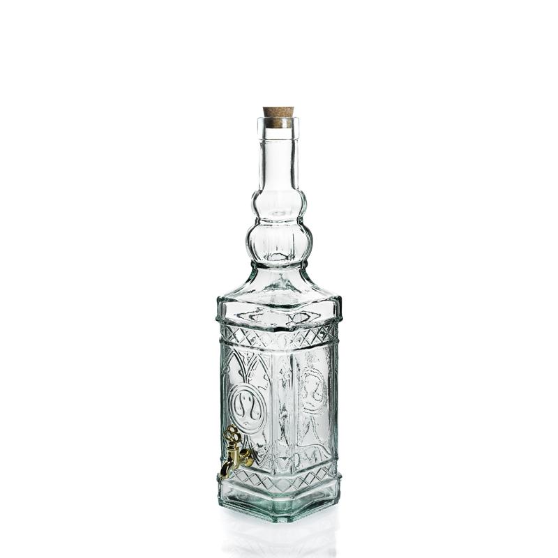 bouteille verre avec robinet ustensiles de cuisine. Black Bedroom Furniture Sets. Home Design Ideas