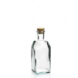 6 bouteilles Frasco Carrée en verre recyclé 500 ml