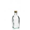 Bouteille 500 ml Frasco Carrée en verre recyclé 500 ml