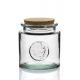 6 bocaux en verre avec bouchon en liège, 800 ml