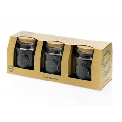 Set 3 pièces 800 ml Authentic 3 Pots dans leur emballage