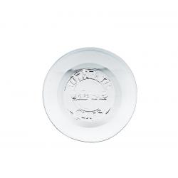 2 piatti in vetro 100% recycled 20 cm