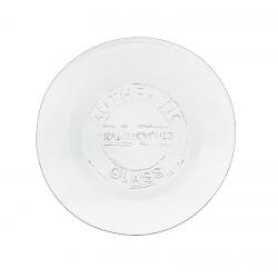 2 piatti in vetro 100% recycled 28 cm