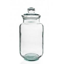 Bonbonnière Tarro Liso, 7 litres, 41 cm de haut, en verre 100% recyclé
