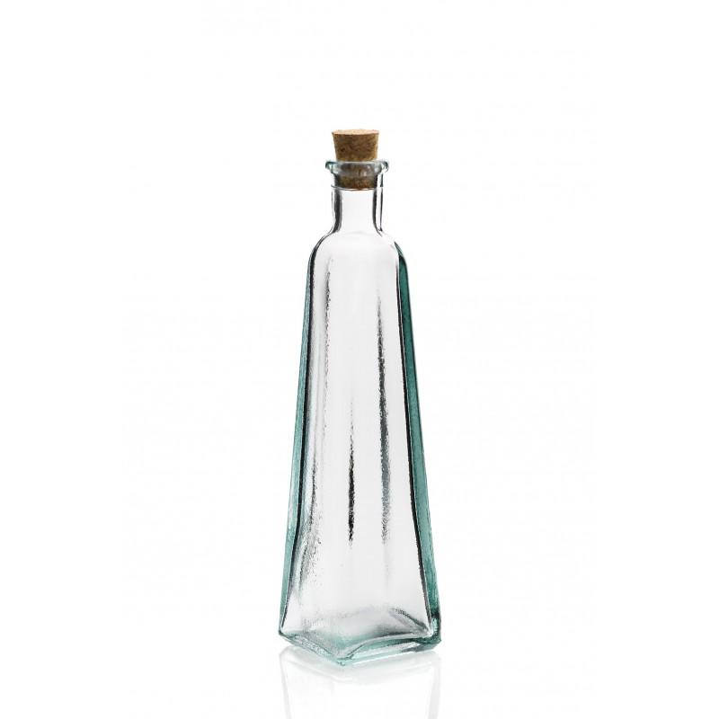 assortiment de 4 mini bouteilles en verre 120 ml avec bouchons en li 232 ge mcm emballages