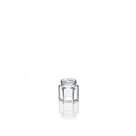 60 bocaux en verre Esagonale 47 ml