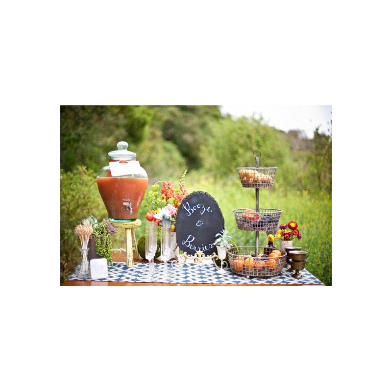 bonbonne jarre en verre 100 recycl 12 litres avec robinet mcm emballages. Black Bedroom Furniture Sets. Home Design Ideas