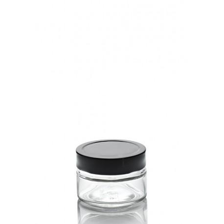 12 bocaux ERGO MIO 106 ml, avec capsule à visser