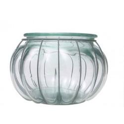 Lanterne PECERA, en verre et en fer