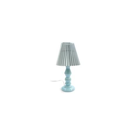 Pied de lampe en céramique Bleu clair, 28 cm, designer danoise Elise Larsen