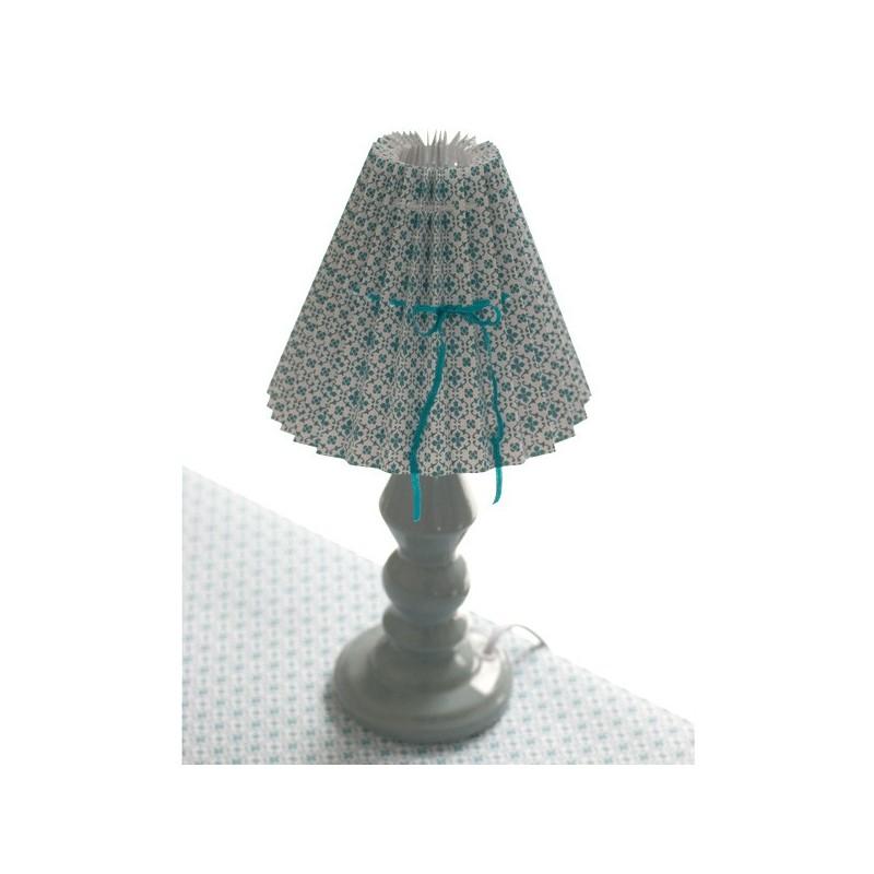 pied de lampe en c ramique bleu clair 28 cm designer danoise elise larsen. Black Bedroom Furniture Sets. Home Design Ideas