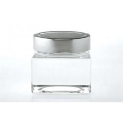 12 bocaux Carré SHENTE 212 ml avec capsule Deep Ø 76 mm Non comprises
