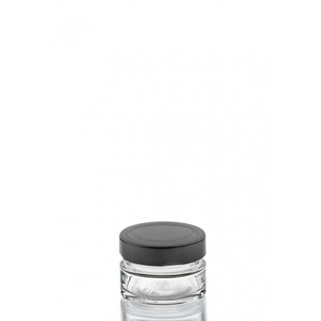 30 bocaux Vaso PLUS, 67 ml, avec capsule Deep TO 58