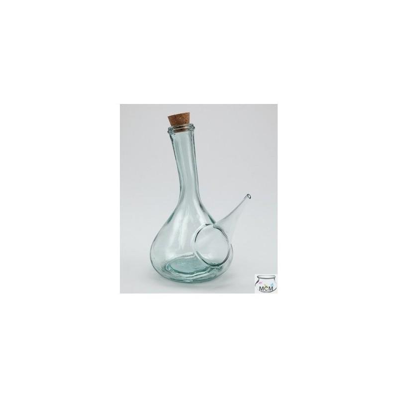 Huilier ou vinaigrier espagnol en verre traditionnel for Ou trouver des bocaux en verre