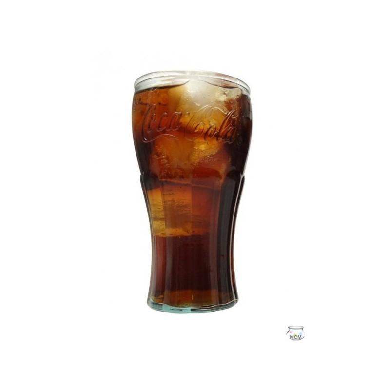 lot de 6 verres coca cola 450 ml en verre 100 recycl mcm emballages. Black Bedroom Furniture Sets. Home Design Ideas