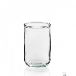 4 Photophores en verre LISO ALTO 400 ml