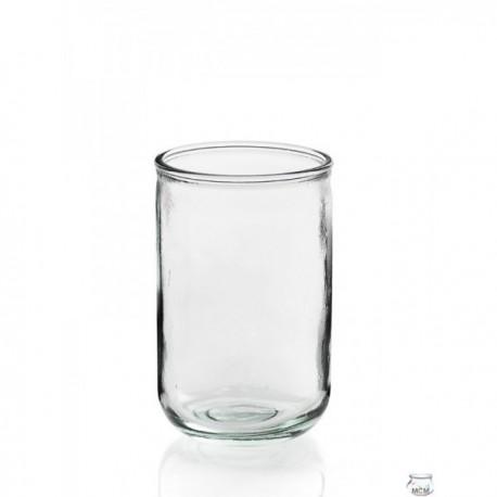 4 Photophores en verre LISO ALTO 400 ml