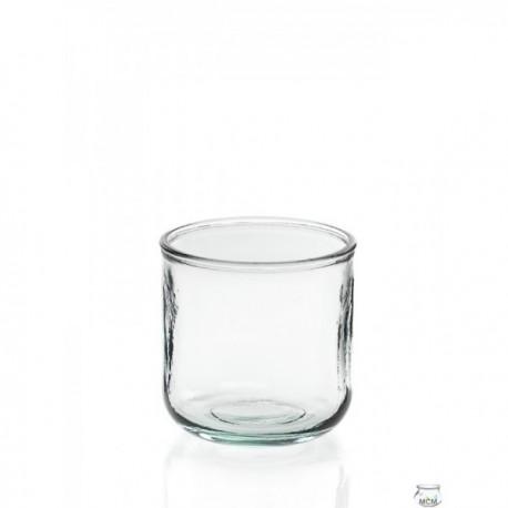 4 Photophores en verre LISO BAJO 300 ml