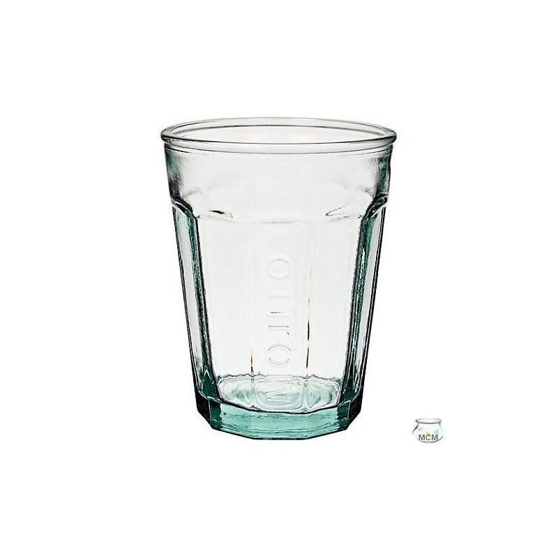 lot de 4 verres mojito en verre 100 recycl 400 ml mcm emballages. Black Bedroom Furniture Sets. Home Design Ideas