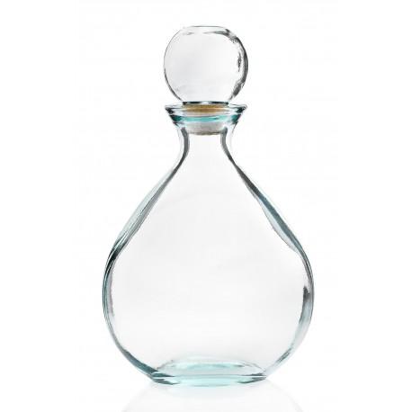 1 Carafe/Bouteille OMAR, 34 cm de haut, bouchon en verre