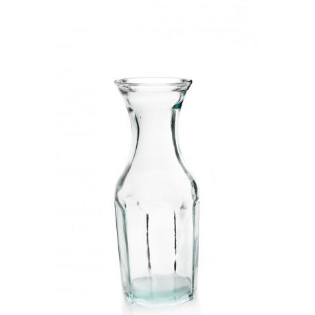 Bouteille 1 litre / carafe en verre, modèle CASUAL