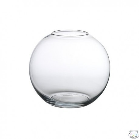 Aquarium poissons forme boule 18 cm 3 litres mcm for Aquarium en boule