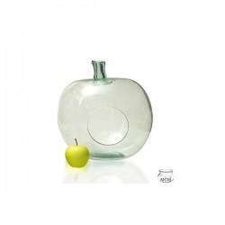 Pomme Terrarium en verre 100% recyclé, 36 cm de haut