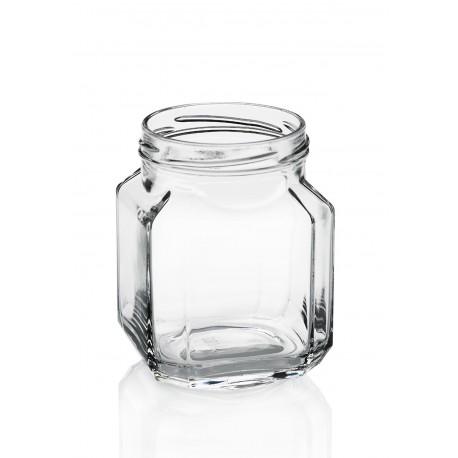 12 bocaux Quadro gourmet 380 ml TO 70 mm